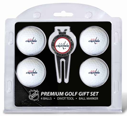 Washington Capitals 4 Ball and Tool Gift Set