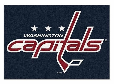 "Washington Capitals 5'4"" x 7'8"" Premium Spirit Rug"