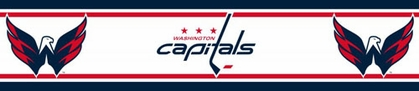 Washington Capitals 5.5 Inch (Height) Wallpaper Border
