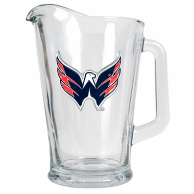 Washington Capitals 60 oz Glass Pitcher