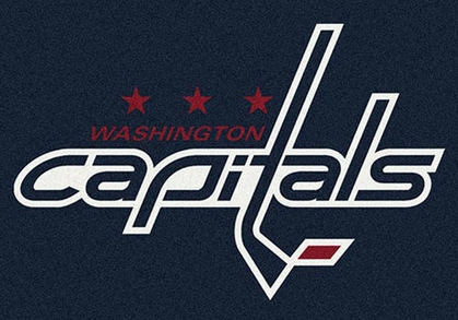 "Washington Capitals 7'8"" x 10'9"" Premium Spirit Rug"