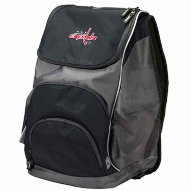 Washington Capitals Action Backpack (Color: Black)