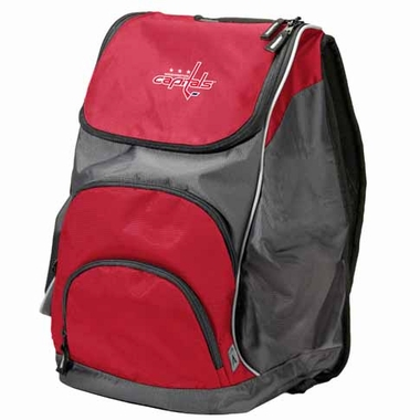 Washington Capitals Action Backpack (Color: Red)