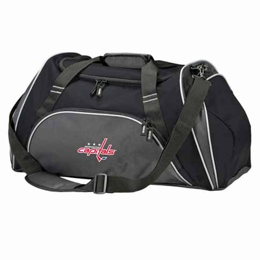 Washington Capitals Action Duffle (Color: Black)
