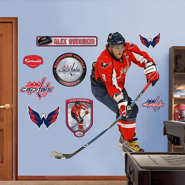 Washington Capitals Alex Ovechkin Fathead Wall Graphic