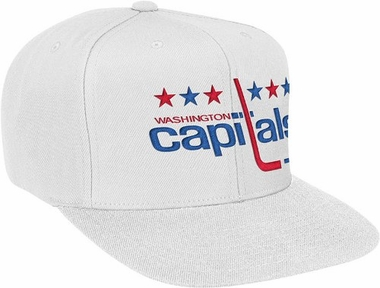 Washington Capitals Basic Logo Snap Back Hat