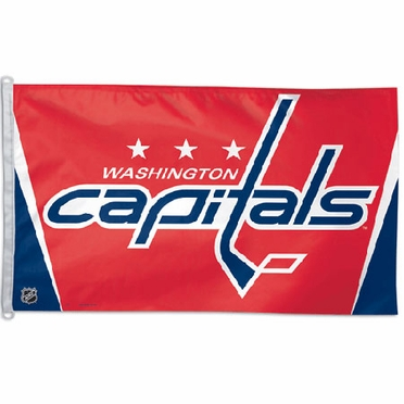 Washington Capitals Big 3x5 Flag