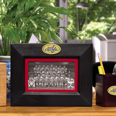 Washington Capitals BLACK Landscape Picture Frame