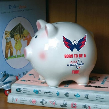 Washington Capitals (Born to Be) Piggy Bank