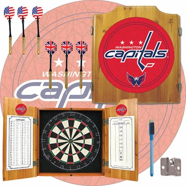 Washington Capitals Complete Dart Cabinet