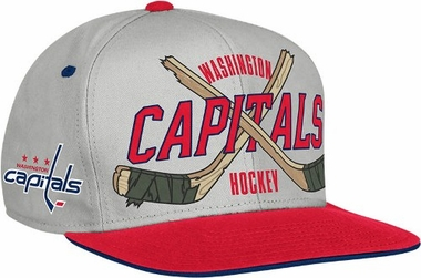 Washington Capitals Cross Sticks Snap back Hat