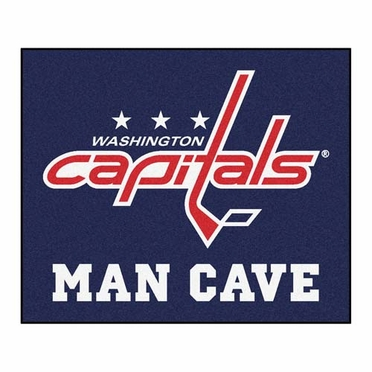 Washington Capitals Economy 5 Foot x 6 Foot Man Cave Mat