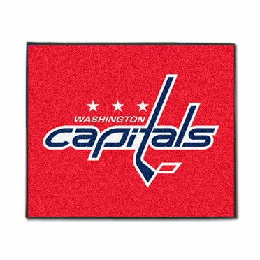 Washington Capitals Economy 5 Foot x 6 Foot Mat