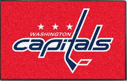 Washington Capitals Economy 5 Foot x 8 Foot Mat