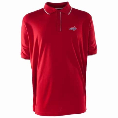 Washington Capitals Mens Elite Polo Shirt (Team Color: Red)