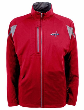 Washington Capitals Mens Highland Water Resistant Jacket (Team Color: Red)