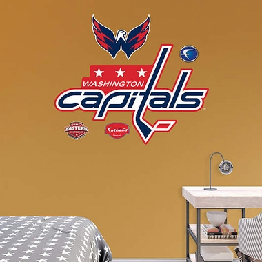Washington Capitals Logo Fathead Wall Graphic