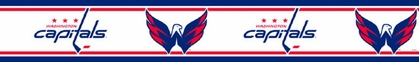 Washington Capitals Peel and Stick Wallpaper Border