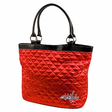 Washington Capitals Quilted Tote
