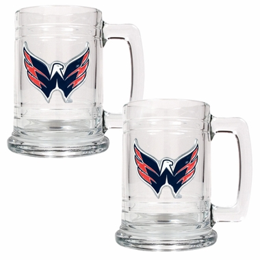 Washington Capitals Set of 2 15 oz. Tankards