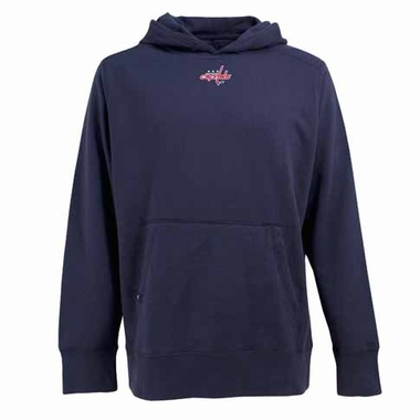 Washington Capitals Mens Signature Hooded Sweatshirt (Alternate Color: Navy)