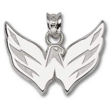 Washington Capitals Sterling Silver Pendant
