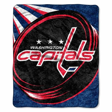 Washington Capitals Super-Soft Sherpa Blanket