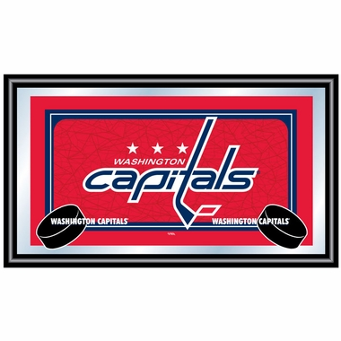 Washington Capitals Team Logo Bar Mirror