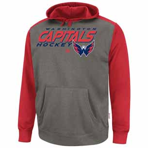 Washington Capitals Therma Base Blocker Hooded Performance Sweatshirt