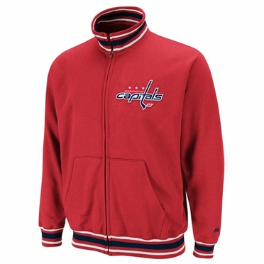 Washington Capitals Top Shelf Full Zip Track Jacket