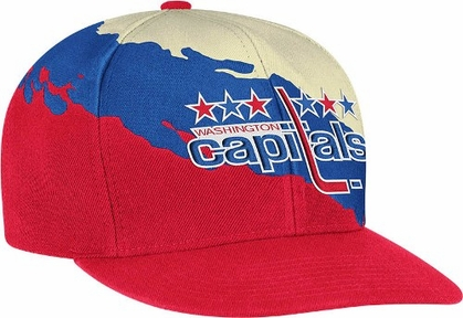 Washington Capitals Vintage Paintbrush Snap Back Hat