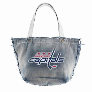 Washington Capitals Vintage Tote (Denim)