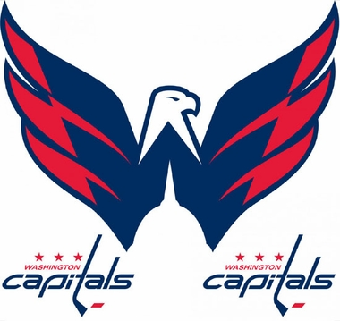 Washington Capitals Wallmarx Large Wall Decal