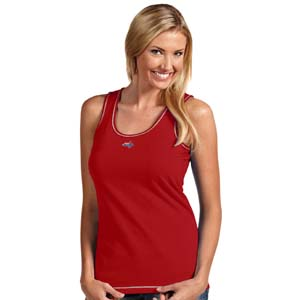 Washington Capitals Womens Sport Tank Top (Team Color: Red) - Small