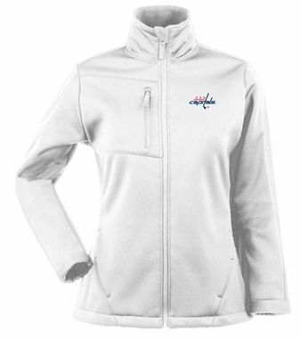 Washington Capitals Womens Traverse Jacket (Color: White)