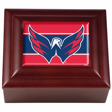 Washington Capitals Wooden Keepsake Box