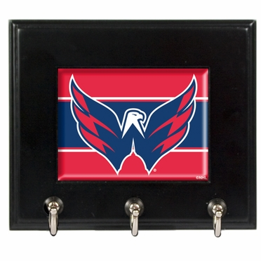 Washington Capitals Wooden Keyhook Rack