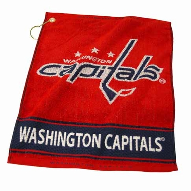 Washington Capitals Woven Golf Towel