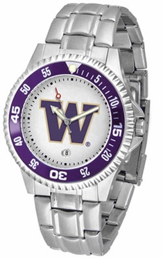 Washington Competitor Men's Steel Band Watch