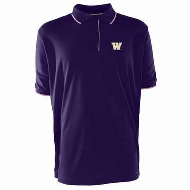 Washington Mens Elite Polo Shirt (Team Color: Purple)
