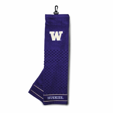 Washington Embroidered Golf Towel