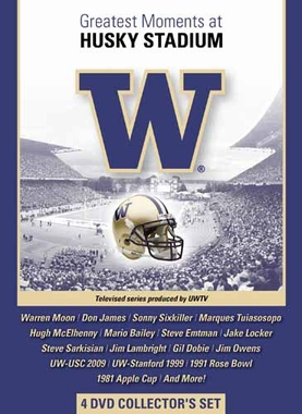 Washington Greatest Moments at Husky Stadium DVD