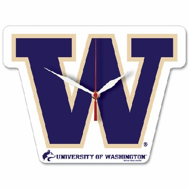Washington High Definition Wall Clock (Logo)