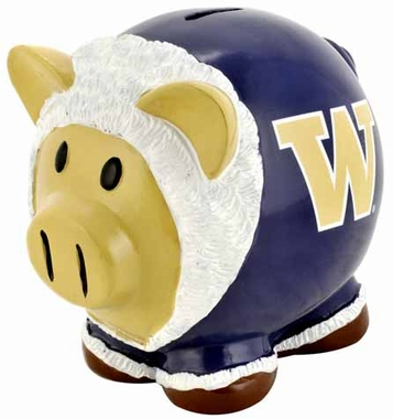 Washington Huskies Piggy Bank - Thematic Large