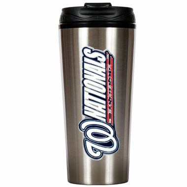 Washington Nationals 16 oz. Thermo Travel Tumbler
