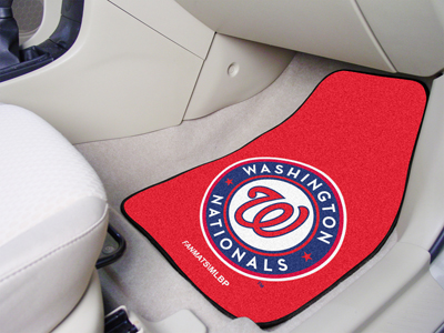 Washington Nationals 2 Piece Car Mats