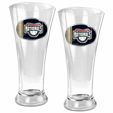 Washington Nationals 2 Piece Pilsner Glass Set