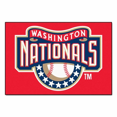 Washington Nationals 20 x 30 Rug