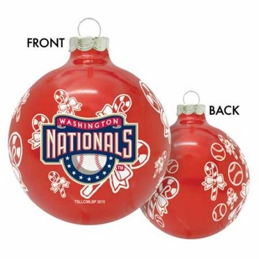 Washington Nationals 2010 Traditional Ornament