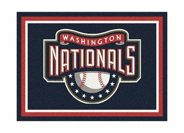 "Washington Nationals 3'10"" x 5'4"" Premium Spirit Rug"